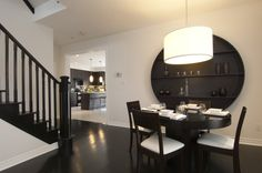 Nichols Manor Homes: Model dining space. #NicholsManor #Monarch #Markham #GTA #dining #design #decor #home