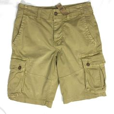 Green Size 40-48 NWT American Eagle Mens Classic Length Extreme Flex Shorts