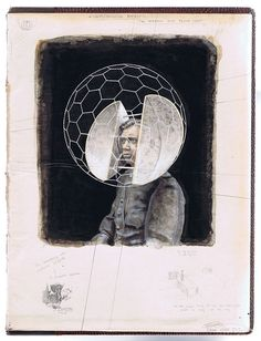 Gideon Kiefer - Equirectangular Portret; The Internal Voice Became Silent