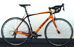 2015 Trek Domane 5.2! Just love the orange versus all the typical standard colours out there!