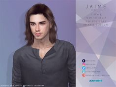 Die Sims, All Hairstyles, Teen Fashion, Female, My Style, Hair Styles, Collection, Sims 4 Custom Content, Hair Plait Styles