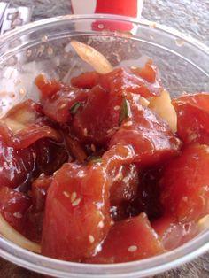 Wasabi Poke from Eskimo Candy in Kihei, Hawaii (best thing I've ever eaten)