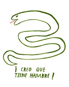 Hungry Spanish Snake, Kelly Lasserre