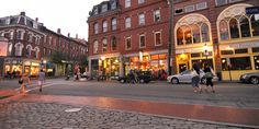 Portland, Maine is so charming and quaint...