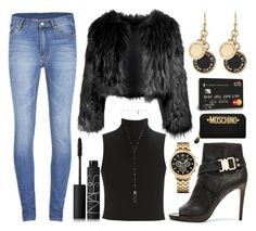 """""""Arora"""" by goingdigi ❤ liked on Polyvore featuring Cheap Monday, Disturbia, Elizabeth and James, NARS Cosmetics, Marc by Marc Jacobs, Natalie B, Tommy Hilfiger, Vince Camuto and Moschino"""