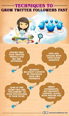 Techniques To Grow Twitter Followers Fast!