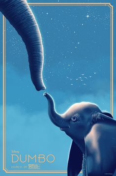 Promotional posters made by various artists for Disney's Dumbo Disney Dumbo, Disney Live, Disney Art, Disney Movies, Movie Poster Art, New Poster, Film Posters, Film Tim Burton, Dumbo Movie