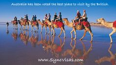 Australia - best place to travel with Tourist Visa apply today with Sync Visas Free Visas Assessment services