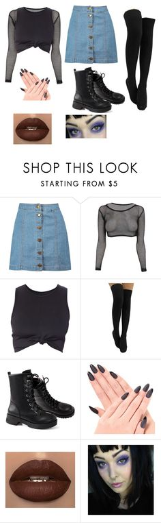"""Untitled #1811"" by jack-barakat-trash ❤ liked on Polyvore featuring Boohoo"