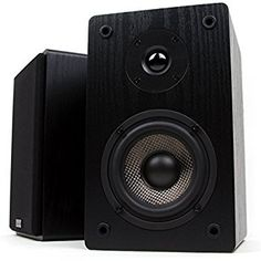Amazon.com: Edifier R1280T Powered Bookshelf Speakers - 2.0 Active Near Field Monitors - Studio Monitor Speaker - Wooden Enclosure - 42 Watts RMS: Home Audio & Theater