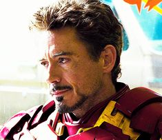 Robert Downey Jr. - his smiles in Iron Man 2 are so sad - he thinks he's dying, and he's trying to hide it from everyone.