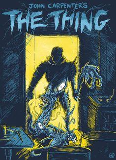 scififorbiddenzone:  John Carpenter's The Thing (1982)