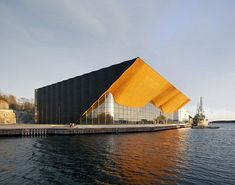 concert hall in Kristiansand, Norway.