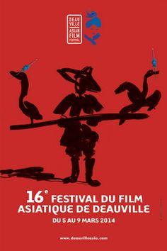 Affiche du 16e Festival du Film Asiatique de Deauville | Cinealliance.fr