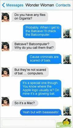 I really love you batman
