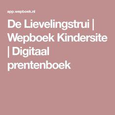 De Lievelingstrui | Wepboek Kindersite | Digitaal prentenboek