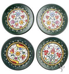 Iznik Design Ceramic Coaster Set - Millenium