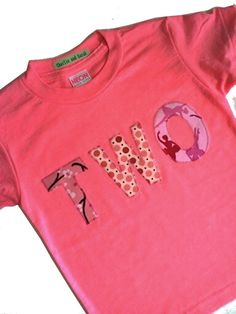 birthday shirt. Make a new 1 ea yr. save them & watch how they grow.
