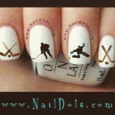 #OMG #ohmeingott #ohmygod #nägel #nails #eishockey #icehockey #habenwill #wantit #perfektfürunsmädls #scheisssommerpause