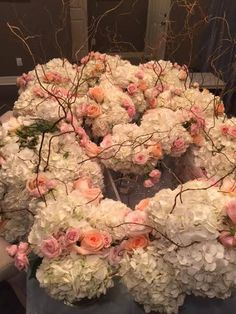 """Something Borrowed Floral Decor - """"We take the arrangements from a wedding or other large event and match them with someone who could use them at a luncheon, shower or other smaller event."""""""