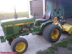 Jd Tractors, Small Tractors, Compact Tractors, John Deere Tractors, Tractor Photos, John Deere Equipment, Vintage Tractors, Outdoor Tools, Farm Gardens