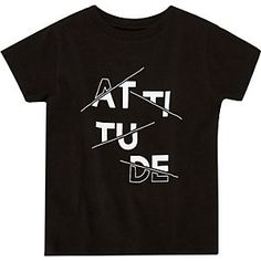 Mini boys black print t-shirt New T Shirt Design, Shirt Print Design, Tee Shirt Designs, Hang Ten, Boys Shirts, T Shirts For Women, Tee Shirts, T Shirt World, Quality T Shirts