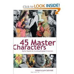 Amazon.com: 45 Master Characters (9781582975221): Victoria Schmidt: Books
