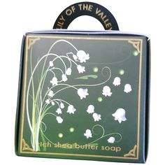 The English Soap Company Lily of the Valley Soap Gift Bag Shea Butter Soap, Best Soap, Soap Company, Lily Of The Valley, Bubbles, Fragrance, English, Diffusers, Soaps