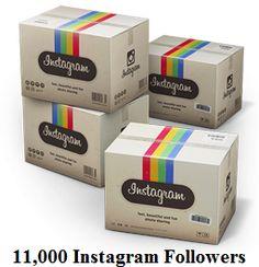 11,000 Instagram Followers