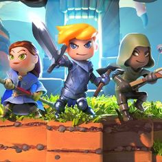 Portal Knights now available on the eShop!