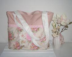 ♥ Estrellas Shopper Tasche   Roses   aus Tilda® Stoff handmade NEU