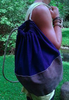 my self-made sack-backpack
