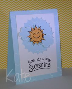 Lawn Fawn Sunny Skies _ You are my sunshine by just kate2013, via Flickr