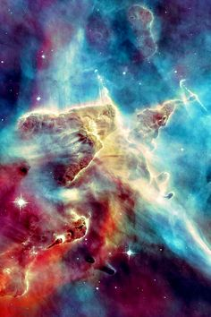 The Carina Nebula: a 3-light-year tall pillar of gas and dust