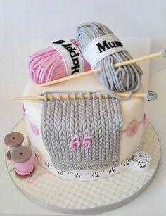 motivtorten selber machen motivtorte stricken tortendeko selber machen pouding - pouding recette - p Crazy Cakes, Fancy Cakes, Pink Cakes, Bolos Cake Boss, Pasteles Cake Boss, Cake Boss Cakes, Pretty Cakes, Cute Cakes, Fondant Cakes