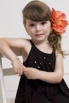 Maya Irene Wada (born May 18, 2008) fashion child model and actress from Russia. Photo by Olga Nalivaiko
