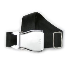 Airplane Buckle Belt Black now featured on Fab.