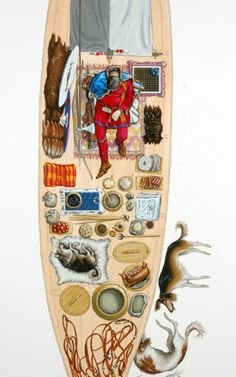 Items in a viking grave