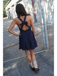 $39.50 Bow Big or Bow Home (navy) #shopdressu #fall #fashion #newarrivals