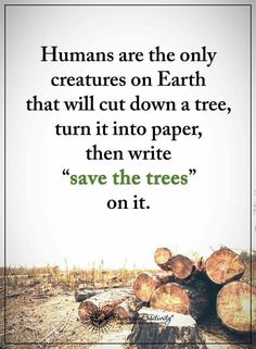 Tree Quotes Nature Sad 66 Ideas For 2019 Environment Quotes, Save Environment Posters, Tree Quotes, Save Our Earth, Power Of Positivity, Nature Quotes, Earth Day Quotes, Climate Change, Wise Words