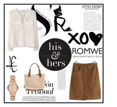 """""""Romwe style6"""" by lugavicamina ❤ liked on Polyvore featuring MANGO and Burberry"""