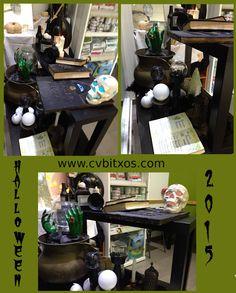 Escaparate 2015 Centre Veterinari Bitxos - Halloween Window Display Vet Center