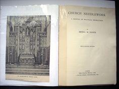 Church Needlework Hands Book 1953 Instruction by RobertaFountain
