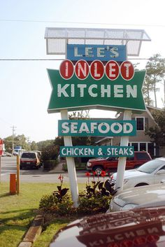 Lee's Inlet Kitchen is a favorite among locals and visitors operated by the same family for 63 years. Try the award winning she-crab soup, hushpuppies & honey butter, and the fried seafood platter