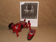 WowWee Red Robopet Tested And Working 2005