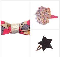 Sono #glamour e romantiche le mollettine per capelli #Obi Obi disponibili sullo shop online di cocochic.it  http://www.cocochic.it/it/11_obi-obi