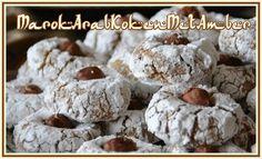 Hazelnootghoriba Marokkaanse koekjes - 50plusser.nl