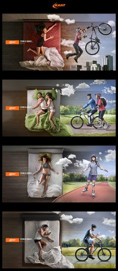 Chain of sports shop Kant by Lev Bodrov, via Behance