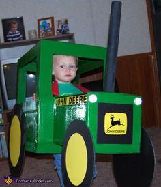 tractor halloween costume toddler   John Deere tractor Halloween costume for boys
