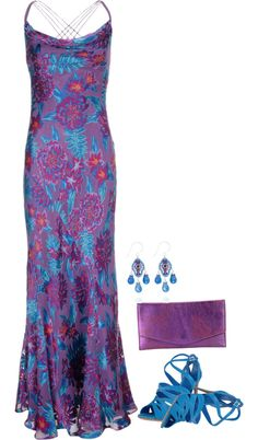 """Purple Floral"" by emjayfashions on Polyvore"